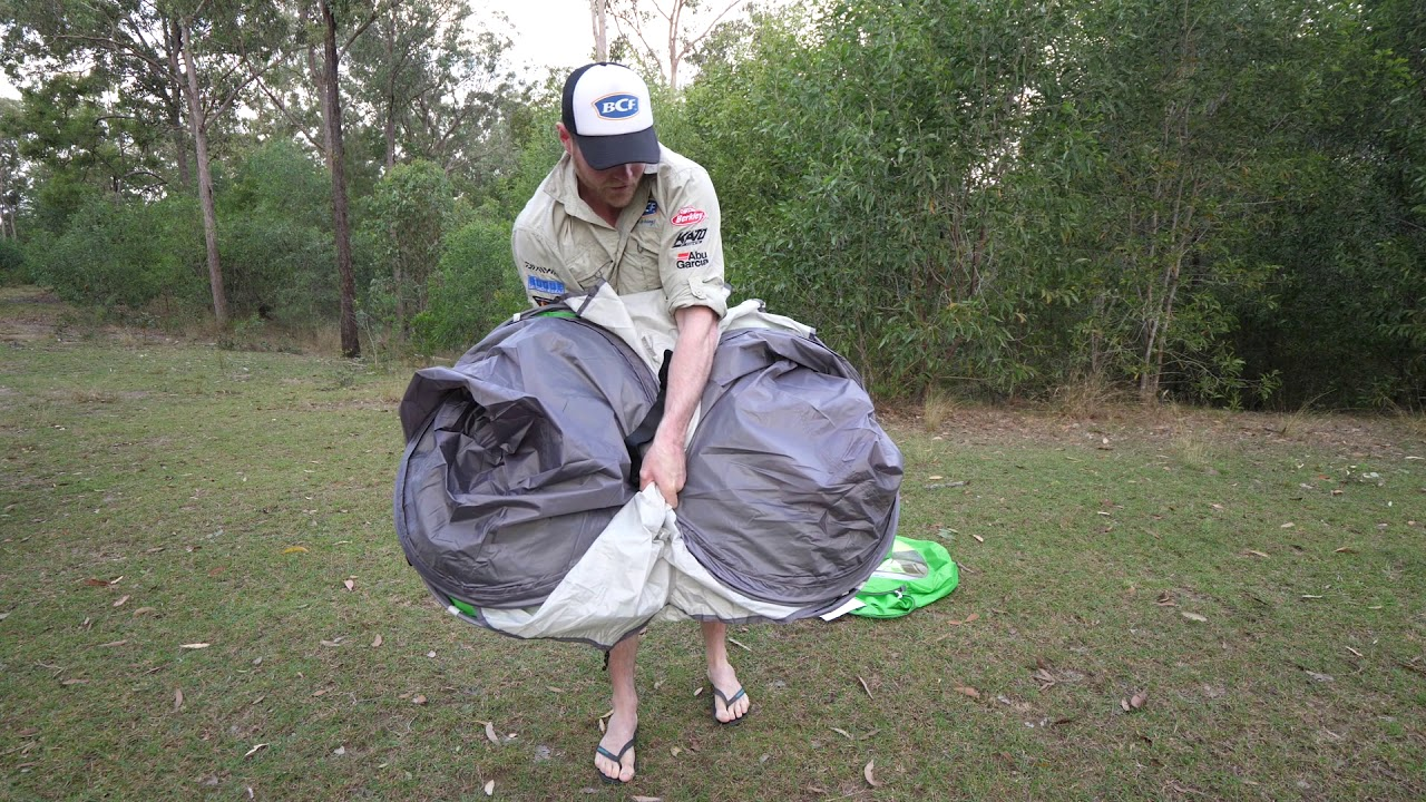 Bcf Coleman Pop Up Tent Packdown Youtube