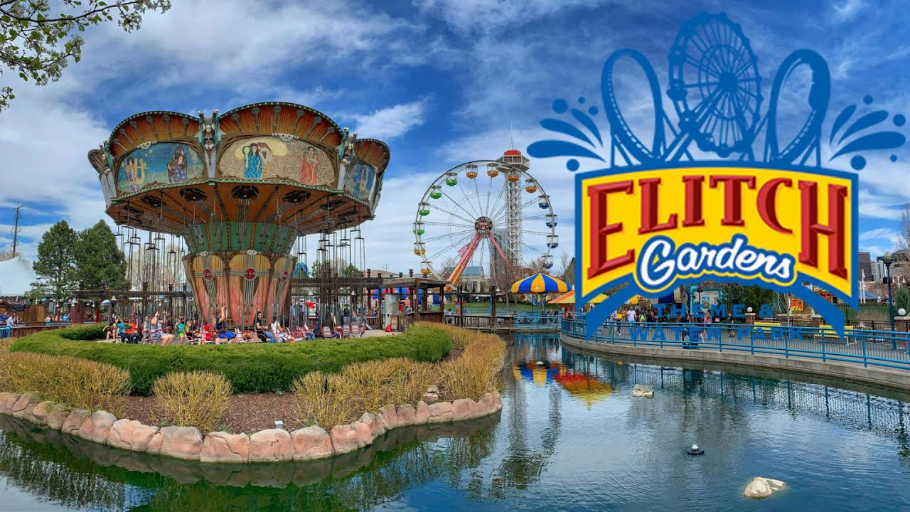 Elitch Gardens 2019 Full Park Walk Through with Hyde & The Legend