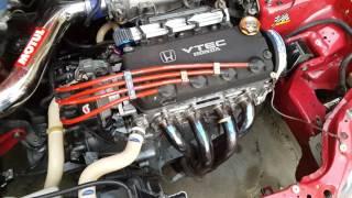 Honda civic eg3 with jdm d15b vtec stock all motor