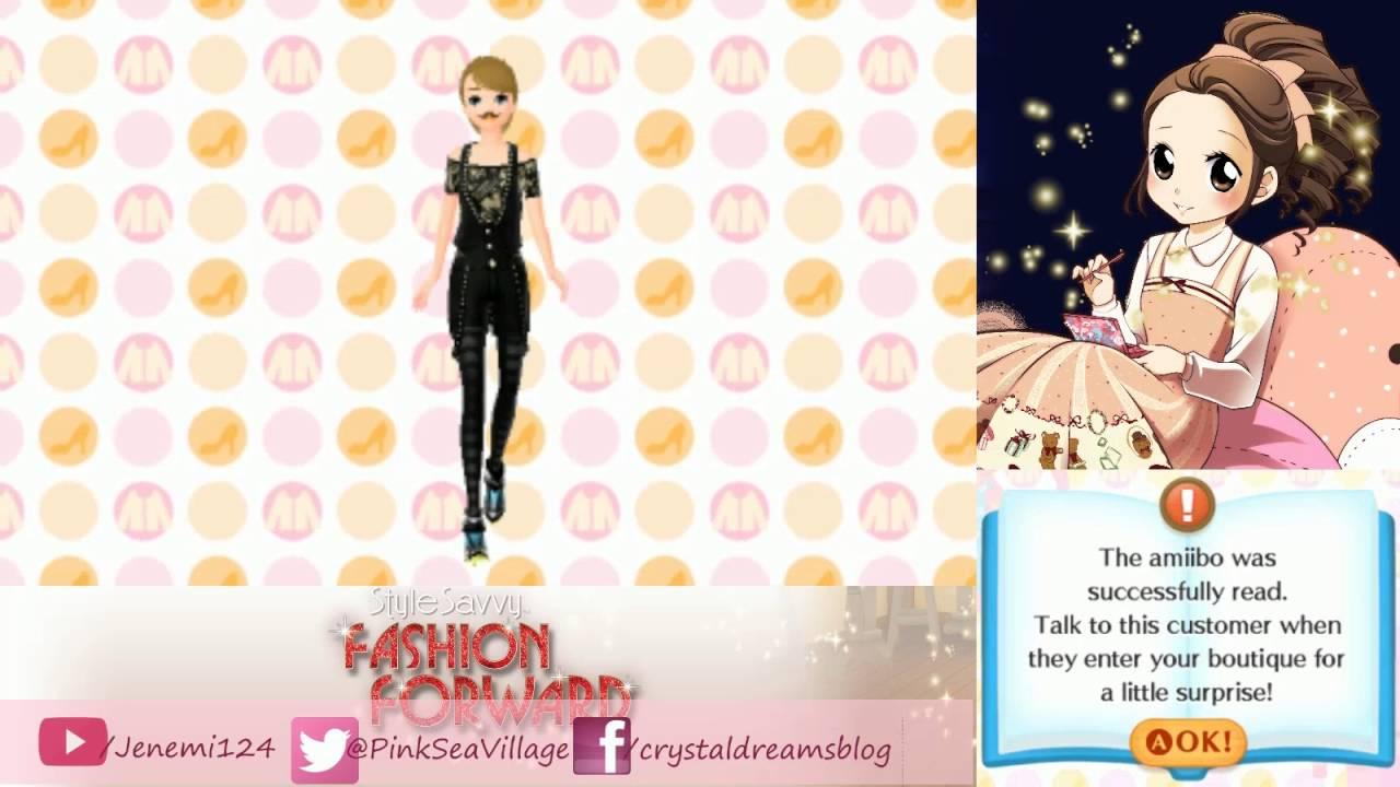 Style Savvy Fashion Forward A Fashion Show Amiibo Youtube