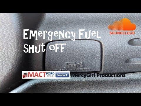Emergency fuel cut off systems on the Ford Edge 2007 thru 2018