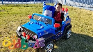 Unboxing NEW Oddbods Toys   Damon & Pogo go to the Park