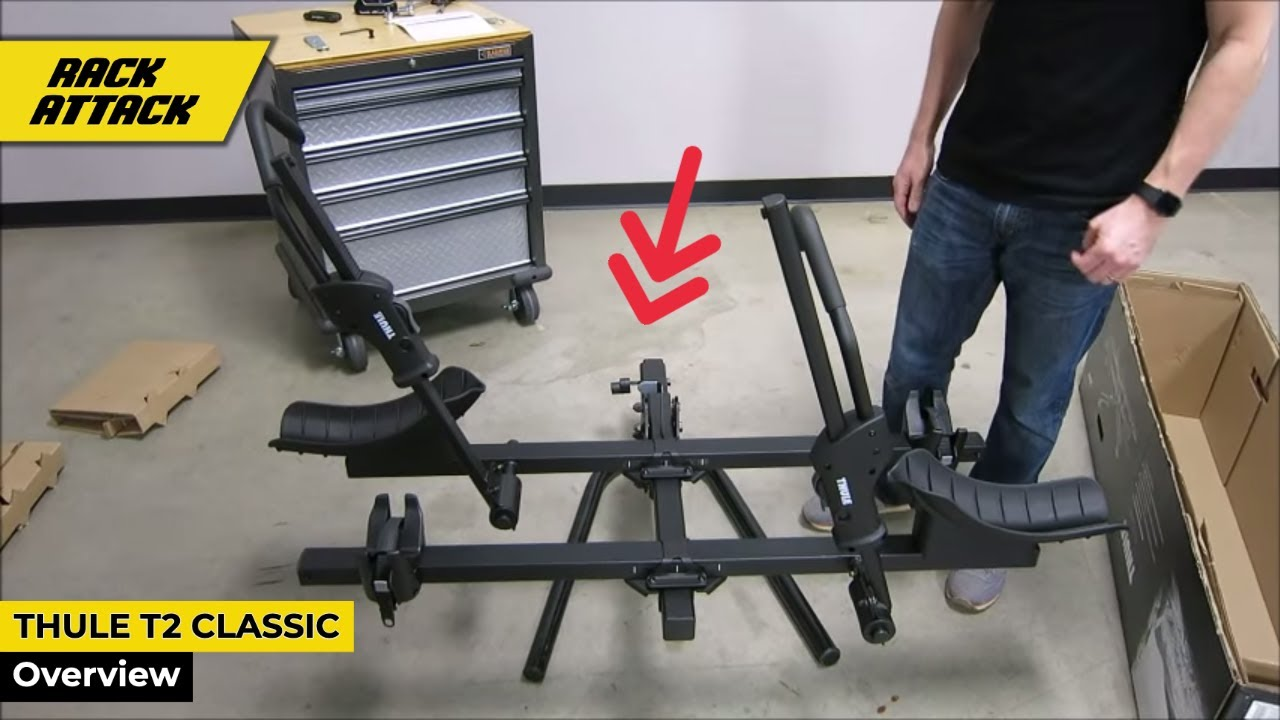 thule 9044 t2 classic platform bicycle hitch rack assembly presented by rack outfitters