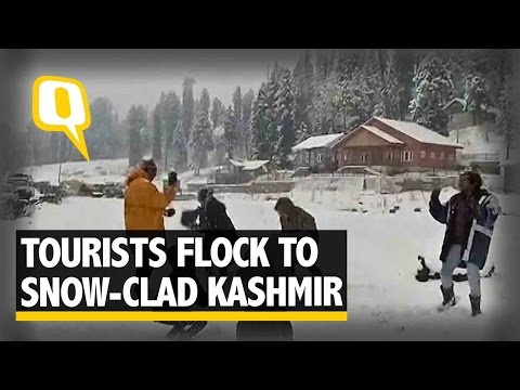 The Quint: Snowfall Brings Tourism Back to the Kashmir Valley