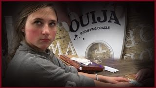 Contacting Scary Spirits With a Ouija Board During Our Slumber Party