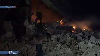 10 قتلى بغارات جوية من طيران الاحتلال الروسي على جنوب إدلب - سوريا