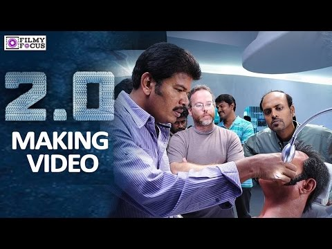 Robo 2.0 Making Video - Rajinikanth,Shankar, Akshay Kumar- Filmyfocus.com