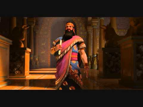 CiV Brave New World OST - Ashurbanipal Peace (Ancient Assyrian Chant)