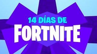 EVENTO **REGALOS** de NAVIDAD 14 DIAS DE FORTNITE BATTLE ROYALE