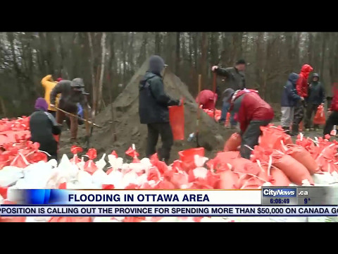 State of emergency declared in city east of Ottawa, parts of Quebec on flood watch