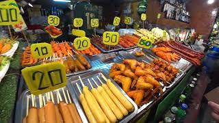 Паттайя Ночной рынок Пратамнак Тайланд Pattaya Park Night Market Thailand