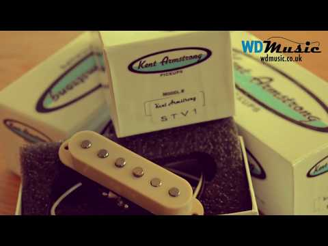 Kent Armstrong Classic Vintage Strat Replacement Pickup Demo by WD Music UK