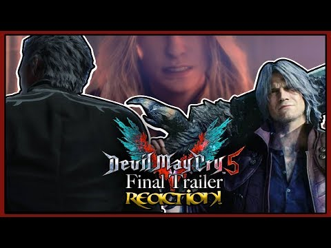 THIS TRAILER HAS THE FEELS! | Devil May Cry 5 - Final Trailer REACTION! thumbnail