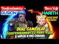 Doofenshmirtzz Feat Yuji, 2 Mage King Combo [ Dual Gameplay ] Gusion Harith Mobile Legends