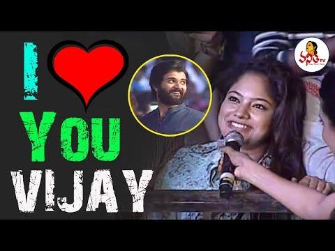Vijay Devarakonda Got Love Proposal From Lady Fan At NOTA Hyderabad