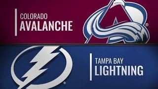 Colorado Avalanche vs Tampa Bay Lightning| Dec.08, 2018 NHL | Game Highlights | Обзор матча