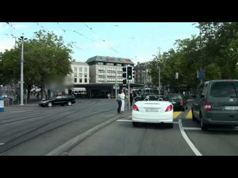 Driving in Aargau and Zürich/ Switzerland/ 08.2013/ FullHD/