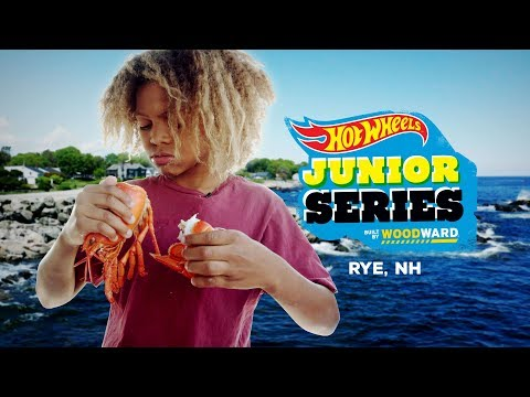 Zion Goes To New England - Hot Wheels Junior Series