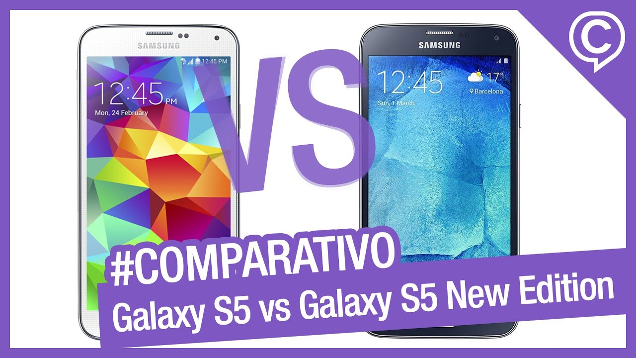 comparativo r pido samsung galaxy s5 vs samsung galaxy s5. Black Bedroom Furniture Sets. Home Design Ideas