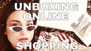 unboxing Online shopping haul | Modist.com review
