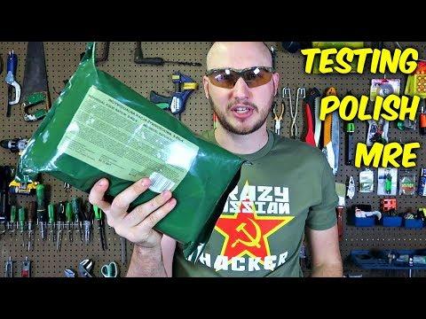 Testing Polish MRE (Meal Ready to Eat)