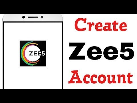 How To Create Sign up Zee5 TV Account