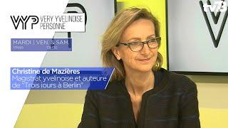 """VYP. Christine de Mazières, Magistrat et auteure yvelinoise de """"Trois jours à Berlin"""""""