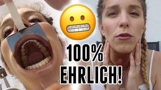 Barbaras Zahnspange wird eingesetzt + Arbeiten am Haus! - Vlog 142