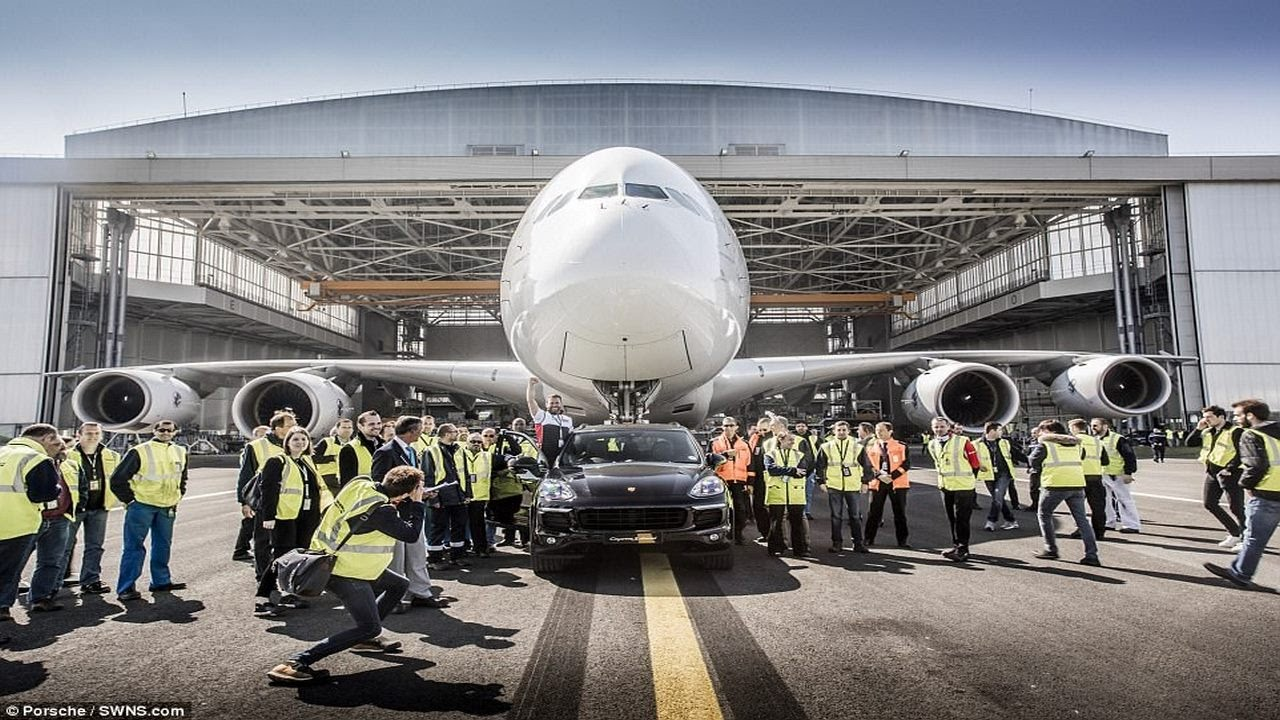 porsche cayenne enters the guinness book of world records after