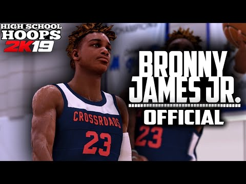 First Ever Official BRONNY JAMES JR