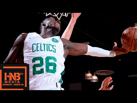 Boston Celtics vs Charlotte Hornets Full Game Highlights / July 9 / 2018 NBA Summer League