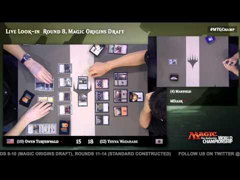 2015 Magic World Championship Round 8 (Draft): Seth Manfield vs. Martin Muller