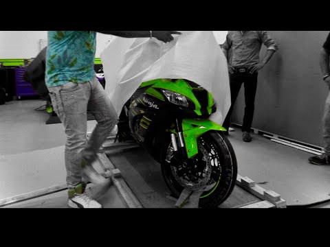 Unboxing Kawasaki Zx10r (2018)