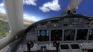 [FS2004] California Tour Leg 3 of 5: Bakersfield to San Bernardino in Eaglesoftdg CX10