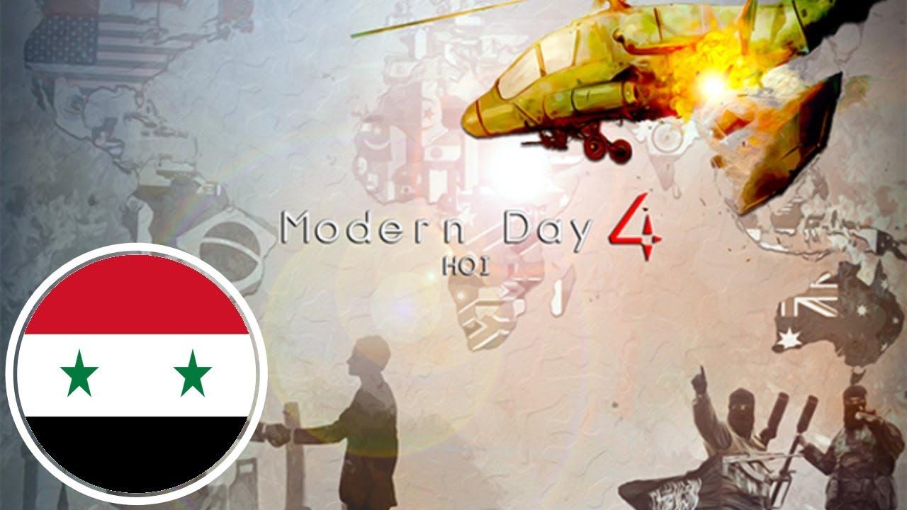 Hearts of Iron IV Modern Day 4 Mod (Syria) [1 - Arab Phoenix]