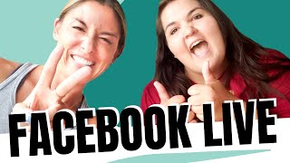 First Facebook Live - Answering ALL of Your Questions!
