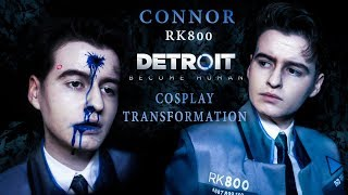 CONNOR (RK800) COSPLAY TRANSFORMATION || Detroit: Become Human