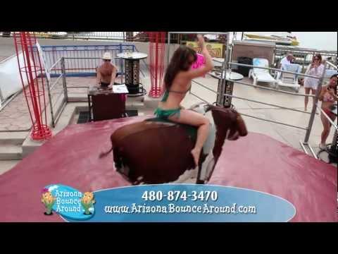 Bull Riding, How To Ride A Bull, Riding Bull, Rental Phoenix AZ