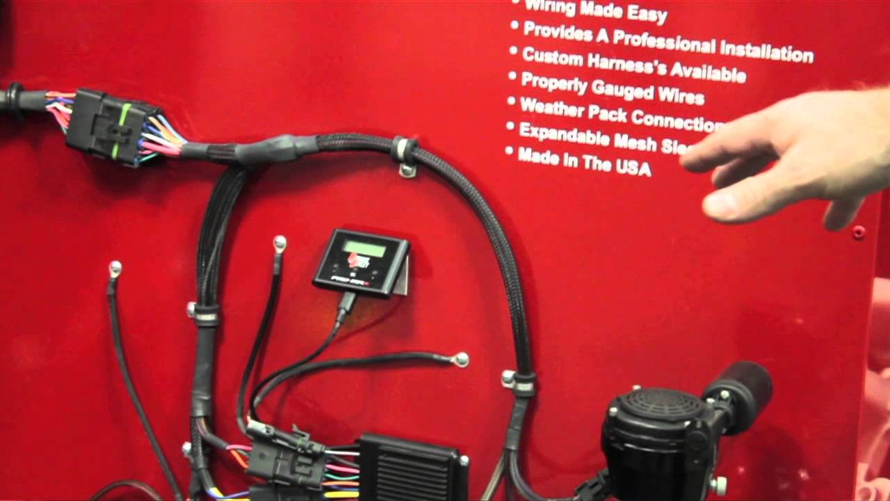 nitrous outlet pro wiring harness pri 2015 youtube rh youtube com wiring harness manufacturer wiring harness massey ferguson 230