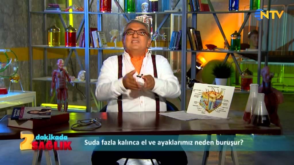 NTV İzle, 2 dakikada sağlık: Suda fazla kalınca parmaklarımız neden buruşur?)