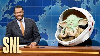 Weekend Update: Baby Yoda - SNL