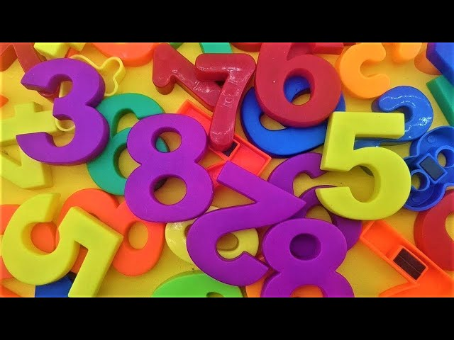 Learn to 0 to 9 count numbers with fun learning contest for kids - videos for kids