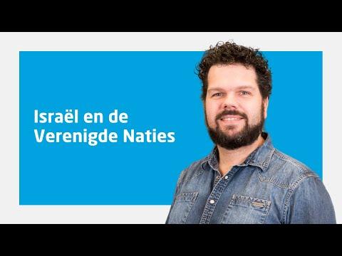 Ruben Ridderhof Over 'Israël En De Verenigde Naties'