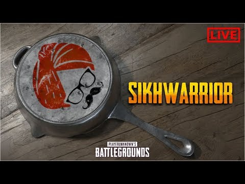 Sikhwarrior | Dinner with Captain Arya & Daddy_Cool  ! ♦ PUBG INDIA LIVE