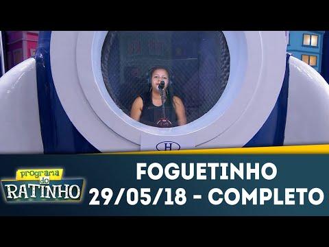 Foguetinho - Completo | Programa Do Ratinho (29/05/18)