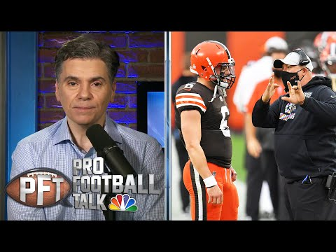 How Browns are managing Baker Mayfield to find success | Pro Football Talk | NBC Sports