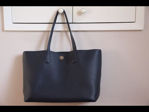 c34f09ad0 Tory Burch Perry Tote | Wear and tear almost a year later - YouTube