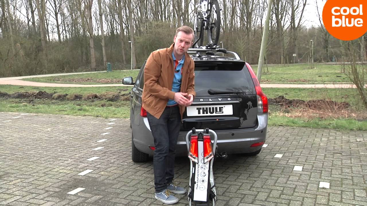 thule easyfold fietsdrager productvideo nl be youtube. Black Bedroom Furniture Sets. Home Design Ideas