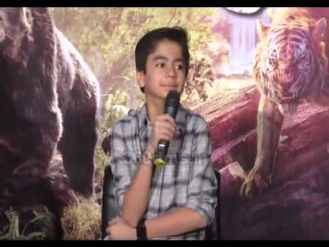 The Jungle Book (2016 film) - Neel Sethi(Mowgli) REVEALS About His Audition And Bhangra Class
