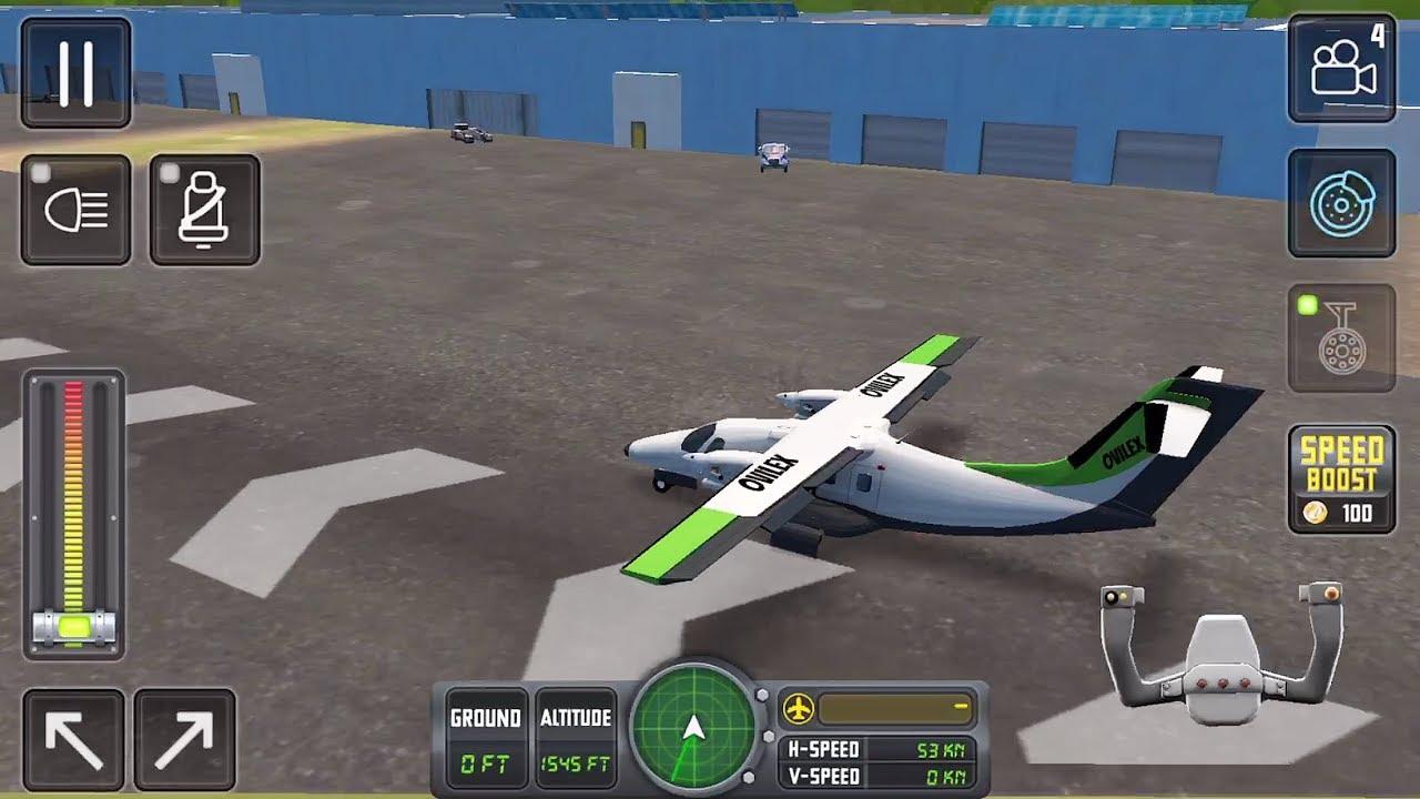 Flight Sim 2018 (Ovilex Software) #2 - Flight Game Android/iOS Gameplay FHD